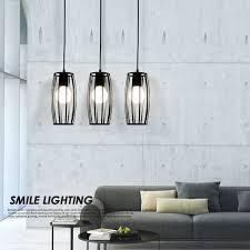 modern led pendant lights for home black bar pendant l hanging