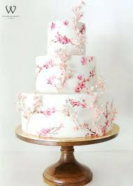 Cake Stand Wedding Floral On Inch Wood Hire Uk