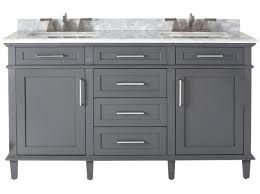 sink adelina 60 inch antique white double sink bathroom vanity