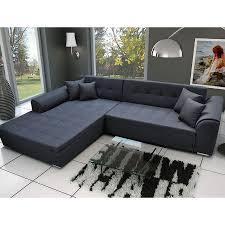 canape angle noir convertible meuble de salon canapé canapé angle noir convertible sofamobili