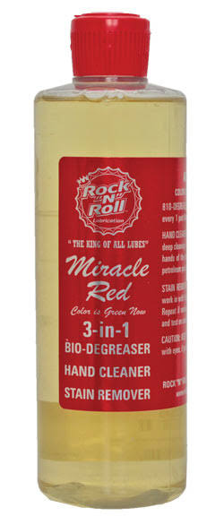 "Rock ""N"" Roll Miracle Red 3-In-1 Degreaser"