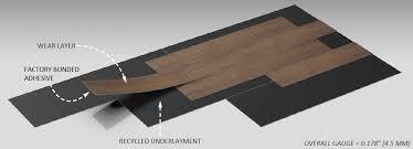teccare floating floor luxury vinyl tiles american biltrite