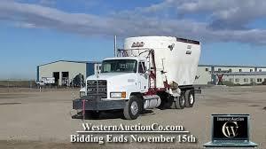 100 Feed Truck 801 Mack YouTube
