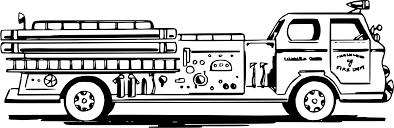19 Firetruck Drawing Car HUGE FREEBIE! Download For PowerPoint ...