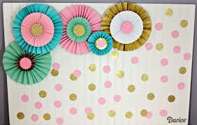 Learn How To Make Paper Rosettes With This Step By Tutorial They A Beautiful Party Backdrop Or Add Fun Pop Of Color And Texture Any Room