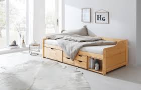 home affaire multimediabett nils mit 5 schubladen und einem fach liegefläche 90 200 kaufen otto