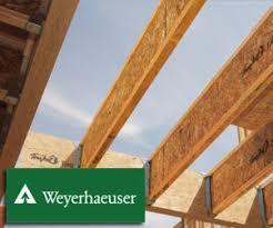 Engineered Floor Joists By Weyerhaeuser