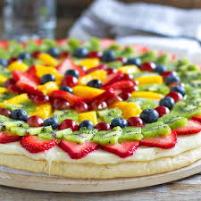 Fruit Pizza Recipe Pinch Of Yum
