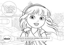 Dora And Friends Coloring Pages 3