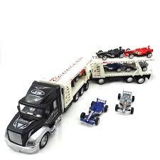 100 Semi Truck Toy Buy With Trailer Towing Eight Forumula 1 Race
