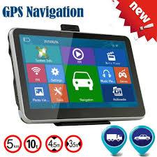 100 Truck Navigation 5 GPS 50LMTHD Car GPS DVR SAT Tablet Touch Screen