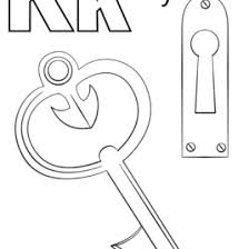 Coloring Picture Of A Key Clipart Best Dirxai Adult