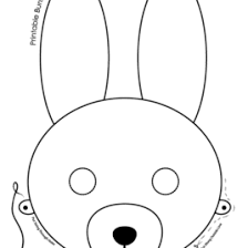 Printable Easter Bunny And Baby Chick Masks Woo Jr Kids Activities