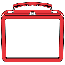Empty School Lunch Tray Clipart