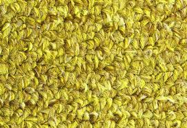 Carpet Texture Close Up Yellow Furry Background