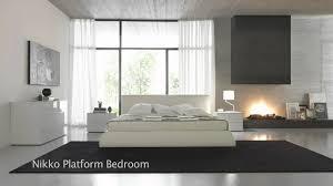 Modern Japanese Style Platform Beds Bedroom Furniture
