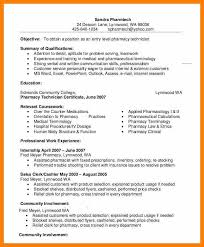 Curriculum Vitae For Pharmacistpharmacy Technician Resume Example 9 Free Word Pdf Documents Samples Freshers
