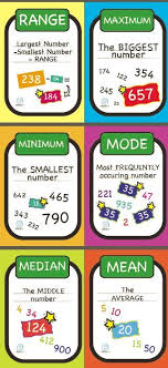 mode median and range best 25 range statistics ideas on mode math rhyme