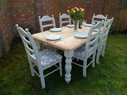 Shabby Chic Dining Room Table And Chairs by 17 Best Shabby Chic Dining Table Images On Pinterest Shabby Chic