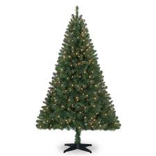 Pencil 6ft Pre Lit Christmas Tree by 6 Ft Pre Lit Green Full Windham Spruce Artificial Christmas Tree