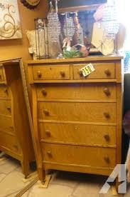 antique tiger oak dresser 6 drawers mirror 67 x32 fancy finds