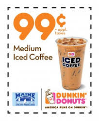 Large Pumpkin Iced Coffee Dunkin Donuts by Dunkin Donut Coupons Coupon Codes Blog