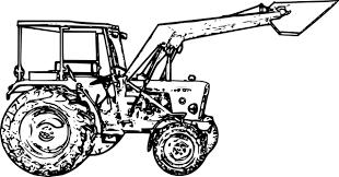 Coloriage204 Coloriage Tracteur John Deere