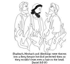 Links To Story Ideas Colouring Pages Activity Sheets And Crafts For Of Shadrach Meshach Abednego In The Fiery Furnace
