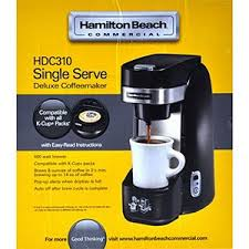 Hamilton Beach Commercial Deluxe Single Serve Coffeemaker