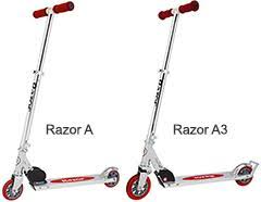Razor A Series Kick Scooters And A3