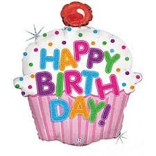 Happy Birthday Cupcake Clipart 1
