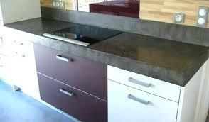 plan de travail cuisine en carrelage quel type de carrelage pour plan travail cuisine table best poser en
