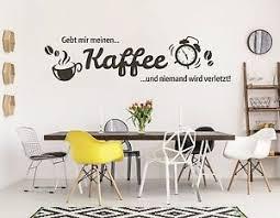 details zu wandtattoo küche esszimmer kaffeetasse spruch gib mir einen kaffee und pkm89