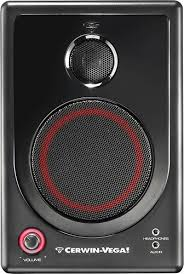 cerwin vega xd4 4 40w 2 way floor speakers pair multi xd4 na