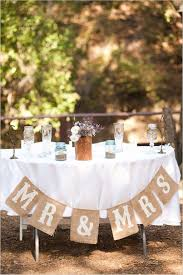 Simple Rustic Wedding Table Ideas