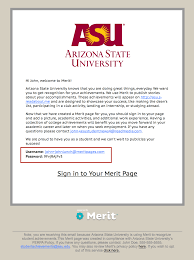 Asu Student Help Desk by How Students Sign Into Their Merit Page Merit Customer Knowledge