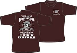Truck Driver Mastering Craft T-shirt For The Trucker In Truck Driver Gifts Drink Cofee Be Amazing And Sleep Trucker Coffee 114 Scale Cargo Action Figures Men Blue With Official Title Badass Fathers Day Gift 2018 Hot Sale Super Fashion Clothing Male Crossfit T Shirt _ Truck Driver Gift Ideas Popular Everything Videos Idea For 18 Mens Dad Shirt Employee Recognition Awards Shirts Funny Tshirt Asphalt Cowboy Key Chain Semi Charm