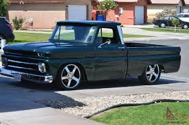 100 Low Rider Truck 1966 Chevrolet Truck Chevy 350 Vortect Restomod Lowered Lowrider Classic Ss