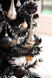 Black Christmas Tree By Stephen Mcnally Via Dreamstime My Style Decorations