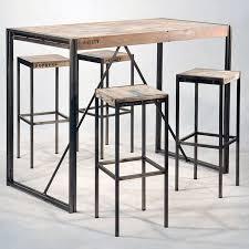 fabriquer table haute cuisine table bar haute hiba la redoute interieurs mesa barra 5 the 25 best