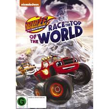 100 Monster Truck Dvd Blaze And The Machines The Top Of The World DVD 1Disc The