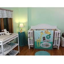 Dallas Cowboys Crib Bedding Set by Living Zig Zag Zoo 6 Pc Crib Bedding Set