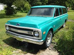 1969 Chevy Suburban. 3 Door, Runs & Drives, Factory A/C, 350V8 ...