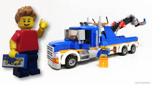 Review - Lego City: Tow Truck (60056) - YouTube