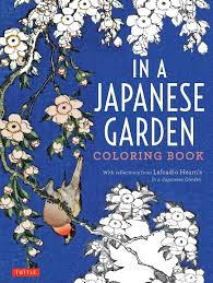 Featuring Elegant Designs In A Japanese Garden Coloring Book Is The Perfect Stress Reliever