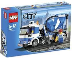 100 Lego Cement Truck City Mixer Set 7990 City Mixer Set 7990