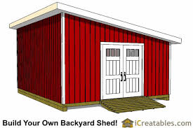 Shed Plans 16x20 Free by 16x20 Lean To Shed Plans Perfect Way To Build A Large Lean To Shed
