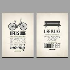 Modern Fashion Cool 2 Pcs Life Poster Children Living Room Decoration Letter Posters Wall Art Pictures