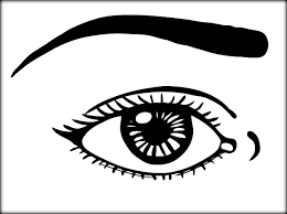Human Eyes Coloring Pages For Preschoolers