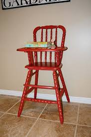 Baby Wood High Chair Wooden Pads Mattdefede Com Old Chairs ...